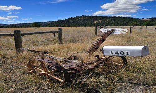 Zdjecie USA / Montana, Wyoming, Colorado, Arizona, Utah, Nebraska / przy drodze / Skrzynki na listy na Dzikim Zachodzie VIII