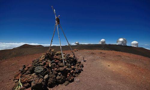 Zdjecie USA / Big Hawaii / Mauna Kea / Najwyższy punkt na Hawajach - 4200 m.n.p.m.