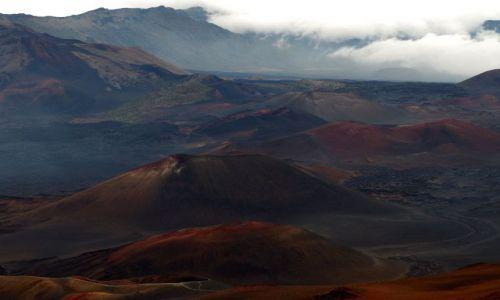 Zdjecie USA / Hawaje / Maui / Haleakala / Haleakala - Mars na Ziemi