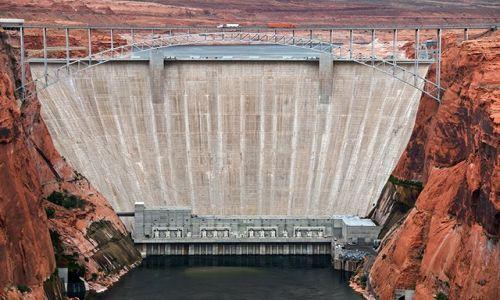 Zdjecie USA / Arizona / Page / Glen Canyon Dam