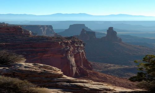 USA / Utah / Canyonlands / Island in the sky /Mesa arch / bezkeres Canyonlands