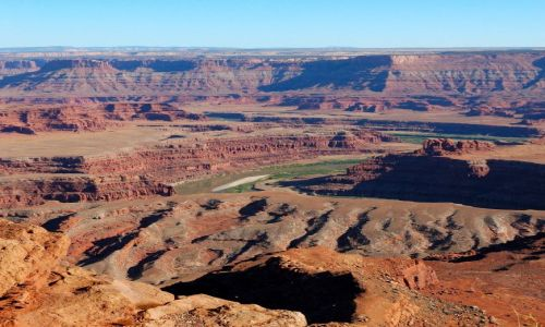 USA / Utah / Canyonlands / Island in the sky / Dead Horse Point / Popołudnie w Dead Horse Point