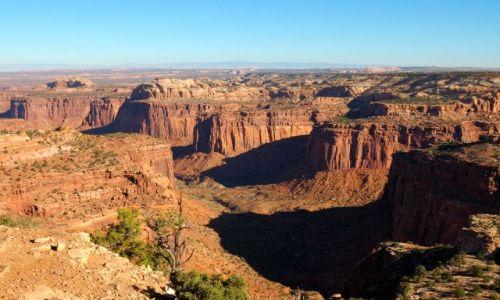 USA / Utah / Canyonlands / Island in the sky / Aztec Butte / Widok z Aztec Butte
