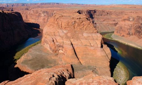 Zdjecie USA / Arizona / Page / Horseshoe Bend / Meandry Colorado 1