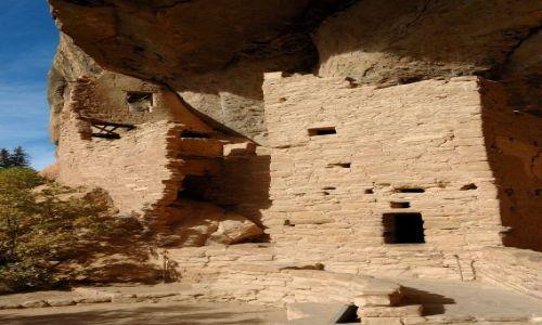 USA / Colorado / Mesa  Verde / Spruce Tree House / Pueblo Indian Anasazi