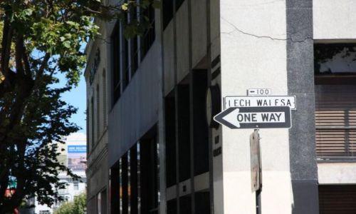 Zdjecie USA / California / San Francisco / Droga jednokierunkowa