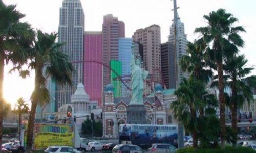 Zdjecie USA / Newada / Las Vegas / Hotel New York New York w Las Vegas.