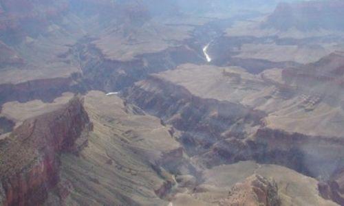 Zdjecie USA / Arizona / Grand Canyon / Grand Canyon widziany z helikoptera.