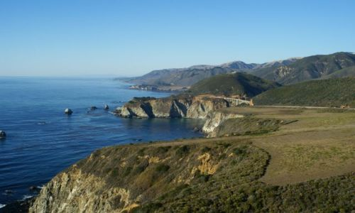 Zdjecie USA / California / Big Sur / wybrzeże Pacyfiku