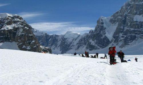 USA / Alaska / Lodowiec Kahiltna / McKinley Expedition 2009