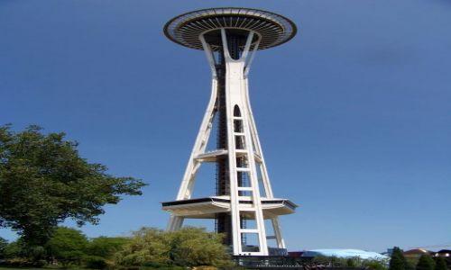 Zdjecie USA / brak / Washimngton / Seattle / wieza obserwacyjna w Seattle