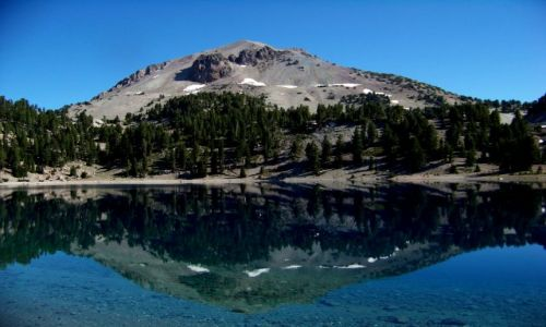 Zdjecie USA / brak / polnocna Kalifornia / Lassen Peak
