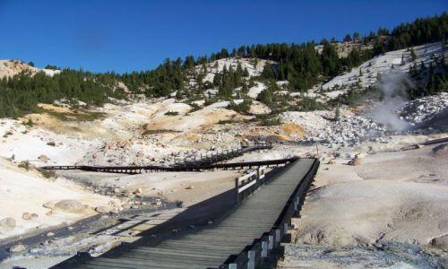 Zdjecie USA / brak / Kalifornia/ Lassen Volcanic NP / Bumpass Hell 2