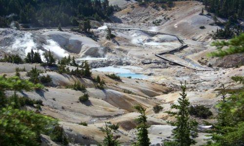 Zdjecie USA / brak / Kalifornia/ Lassen Volcanic NP / Bumpass Hell 5