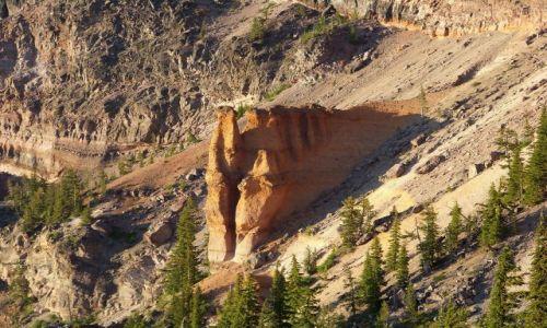 Zdjecie USA / brak / Oregon/ Crater Lake NP / Pumeksowy Zamek 2
