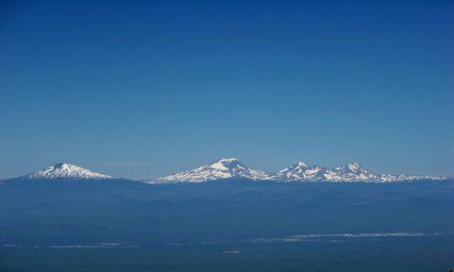 Zdjecie USA / brak / Oregon / Paulina Peak / wulkany Three Sisters 2