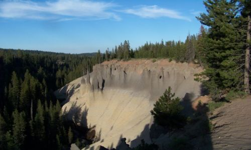 Zdjecie USA / brak / Oregon / Crater Lake / Pinnacles