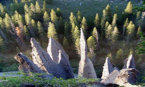 Zdjecie USA / brak / Oregon / Crater Lake / Pinnacles 5