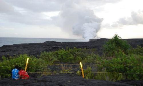 Zdjecie USA / Hawaje / Big Island / u stóp Bogini Pele