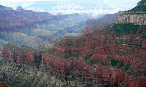 Zdjecie USA / Arizona / Wielki Kanion / barwy kanionu