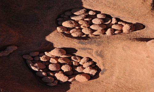 Zdjecie USA / Nevada / Kamienna Dolina / Kamienne Jaja Kamiennych Potworów