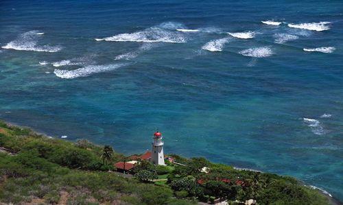 Zdjecie USA / Oahu / Honolulu / Jedyna latarnia morska w moim archiwum