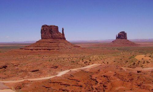 Zdjecie USA / Arizona / Monument Valley / słynne
