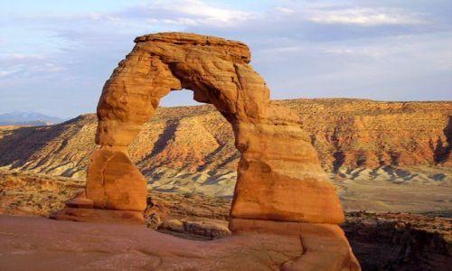 Zdjecie USA / Arizona / Arches Nat. Park / Delicate Arch