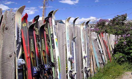 Zdjecie USA / Wyoming / misteczko Jackson / jak można wykorzystać jeszcze narty?