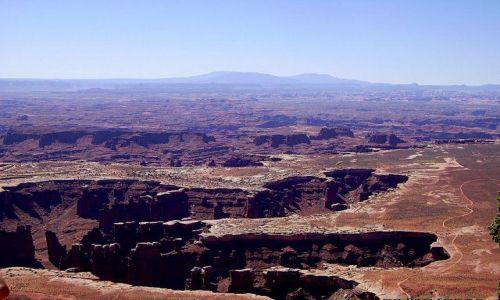 Zdjecie USA / Utah / Canyonlands - Death Horse Point / jak ślad łapy wielkiego dinozaura!