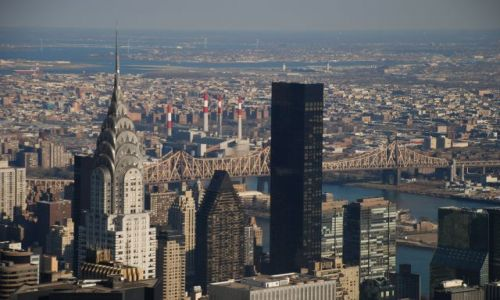 Zdjecie USA / brak / New York / Widok z Empire State Building