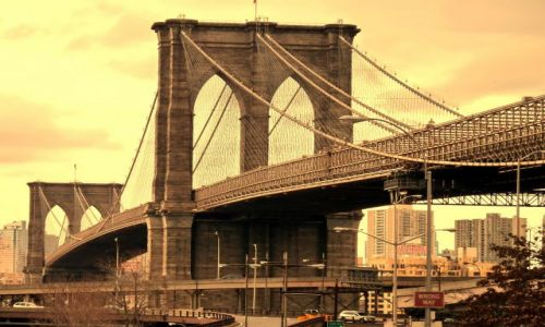 USA / NY / NYC / Brooklyn Bridge