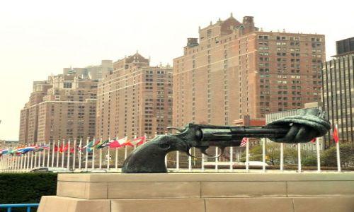 USA / NYC / NY / przed ONZ