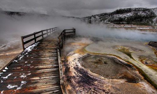 Zdjecie USA / Wyoming / Yellowstone / Yellowstone NP