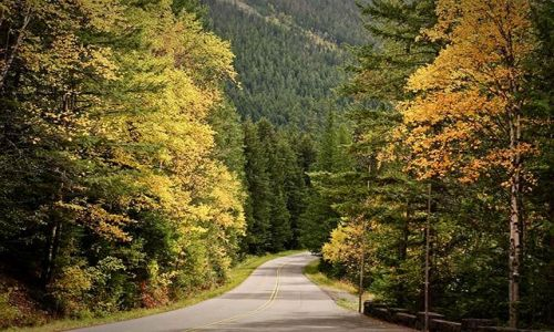 Zdjęcie USA / Montana / Glacier National Park / jesień w Glacier NP