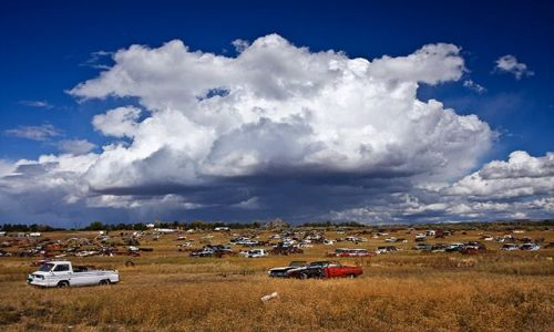 Zdjecie USA / brak / gdzieś w Arizonie / stare cmentarzy