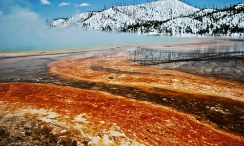 Zdjęcie USA / Wyoming / Grand Prismatic Spring / YELLOWSTONE