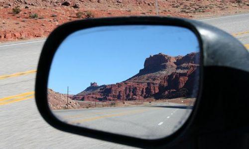 Zdjecie USA / Utah / Arches National Park / Droga do Arches NP