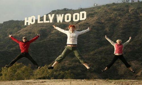 Zdjecie USA / California / Los Angeles / Raz, dwa, trzy