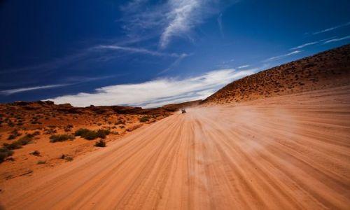 Zdjecie USA / stan Arizona / w pobliżu Antelope Canyon,  / p