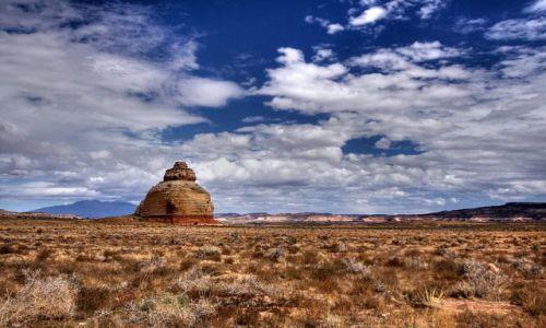Zdjecie USA / stan Utah / niedaleko Moab / Church Rock