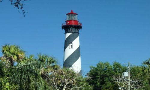 USA / Floryda / st Augustine / Taka latarnia