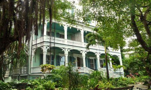 USA / Floryda / Key West / Dom wiktoriański
