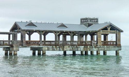 USA / Floryda / Florida Keys / Molo