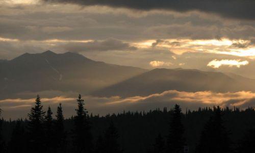 Zdjęcie USA / Alaska / Denali National Park / McKinley o północy