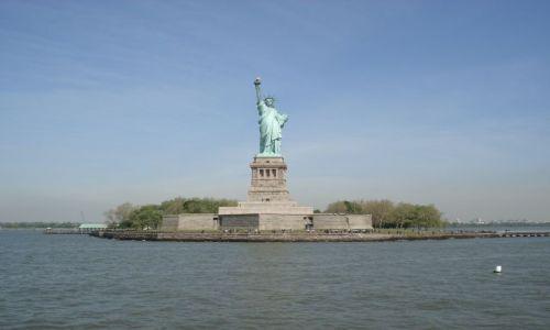 USA / Nowy Jork / Manhattan / Statua Wolności
