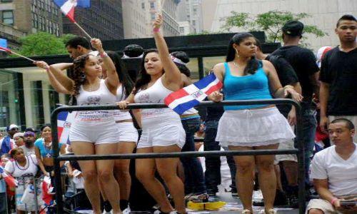 Zdjecie USA / manchattan / 5th ave / dominican parade