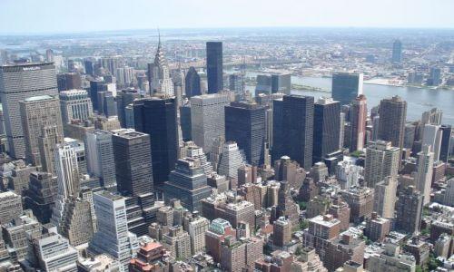 Zdjęcie USA / Nowy Jork / Manhattan / Widok z Empire State Building