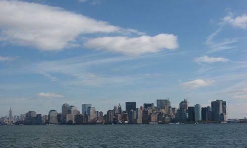 Zdjecie USA / Nowy Jork / Manhattan / Panorama dolnego Manhattanu