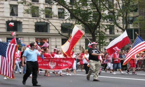 Zdjecie USA / Nowy Jork / 5.Aleja / Parada Pułaskiego